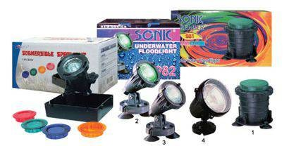 Sonic Underwater Flood Light