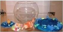 Aquarium Fish Decorative Bowl
