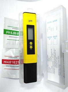 Auto LCD Digital Pen shape PH Meter