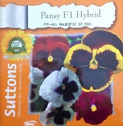 Hybrid Pansy Flower Seeds Buy Imported Garden Flowers Seeds Online In India