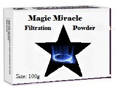 Magic Miracle Instant Water Filtration Powder