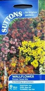 Suttons Wallflower Seeds