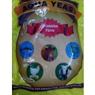 Aqua Yeast Dried Yeast Gut Regulators Natural Floc Feed Probiotic