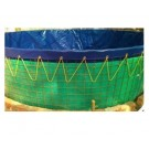 Heavy Duty Aquaculture Biofloc Water tank Tarpaulin