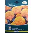 Hybrid Inca Orange Marigold Flower Seeds