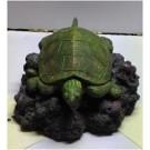 Turtle Air Bubbles Resin Ornament
