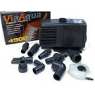 Via Aqua Submersible Aquarium Pond Pump