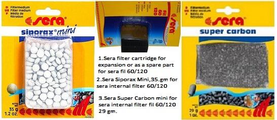 Sera fil 120 internal aquarium filter for Sera aquarium