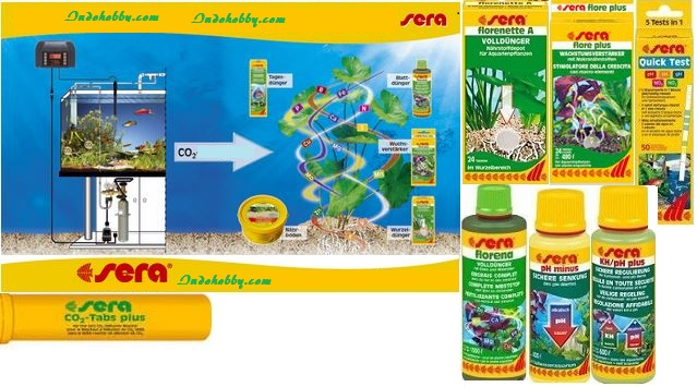 Sera flore daydrops additives for Sera aquarium